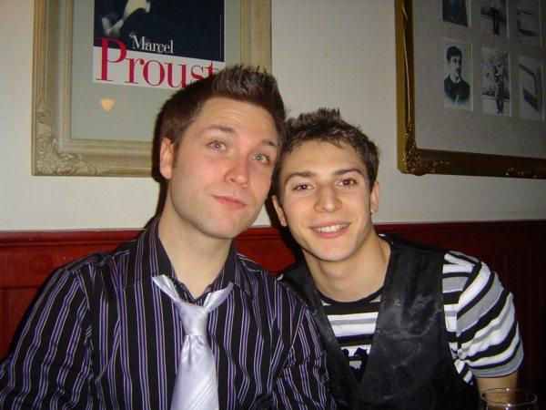 """Corey et moi (Soirée du 31 décembre """"Chez Lucien"""")"""