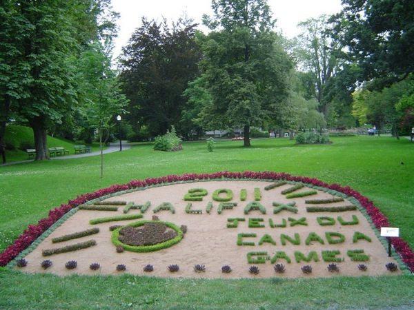 Le jardin public de la ville de Halifax en Nouvelle-Écosse