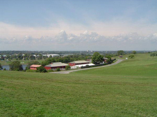 Les collines du Fort Henry à Kingston