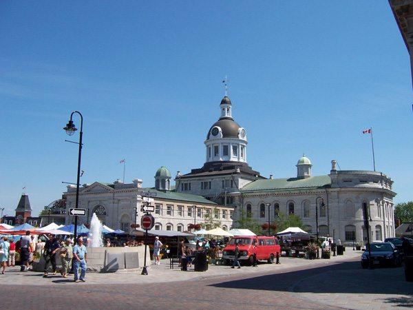 Centre ville de Kingston