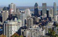 La ville de Montréal (Québec, Canada)