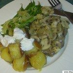 Patates et steak