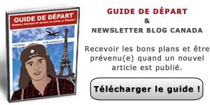 Guide de départ au Canada