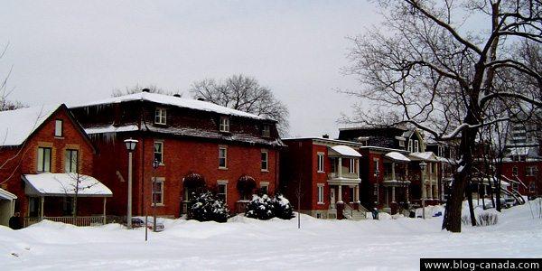 Hiver au canada froid canadien temp rature et climat - Temperature maison hiver ...