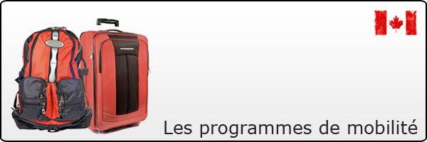 Programme de mobilité jeunes : Canada - France