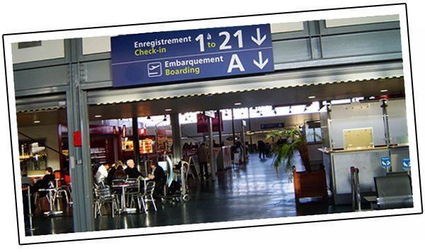 Départ au Canada - Aéroport de Paris