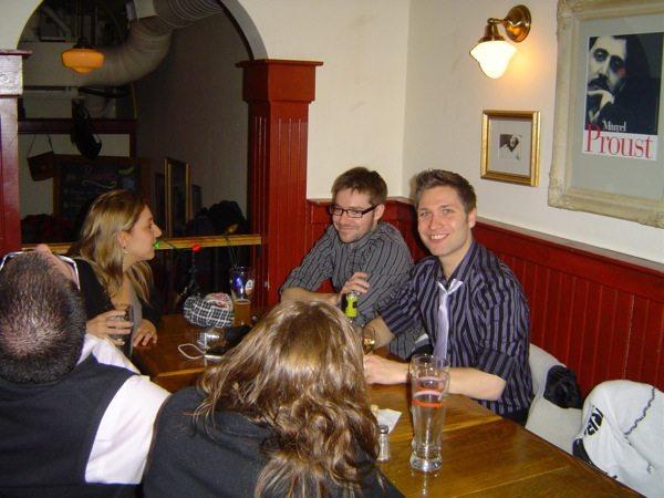 """La soirée du 31 décembre """"Chez Lucien"""" (C'est un pub !!!)"""
