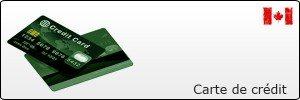 Carte de crédit au Canada