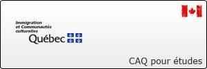 Demande de certificat d'acceptation du Québec (CAQ) pour études