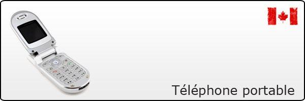 Téléphone portable au Canada