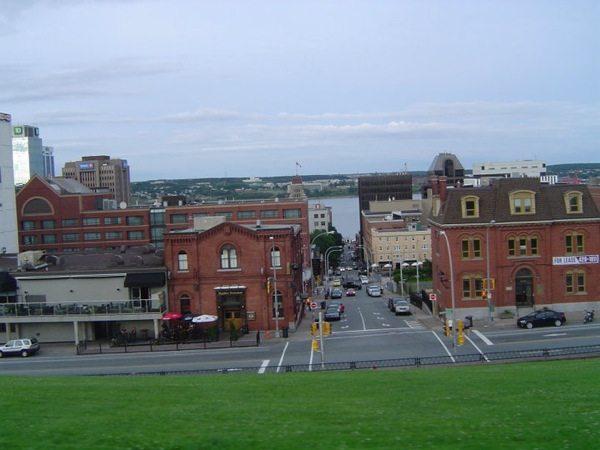 La ville de Halifax en Nouvelle-Écosse