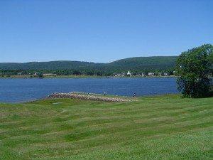 La petite ville d'Annapolis royal en Nouvelle-Écosse