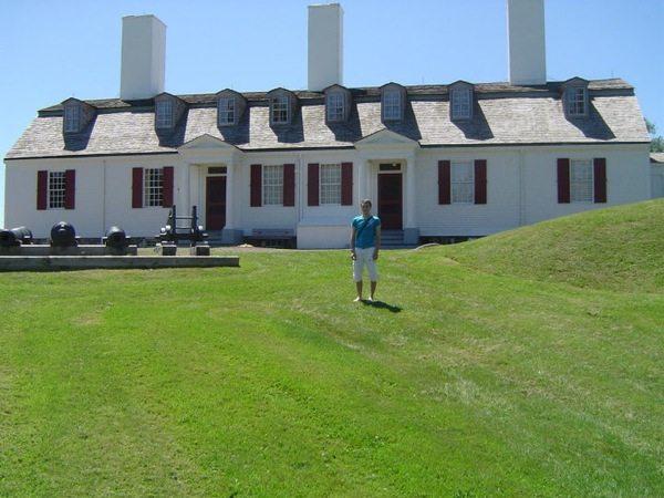 Lieu historique national du Canada Fort-Anne à Annapolis royal en Nouvelle-Écosse