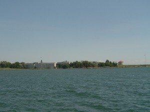 Vue depuis les quais de Kingston