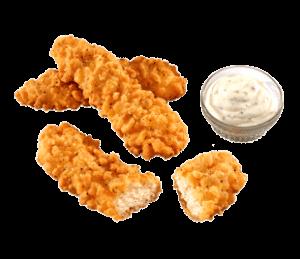 """Les """"doigts de poulets"""" (Chicken fingers)"""