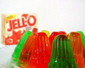 La gélatine (Jell-O)