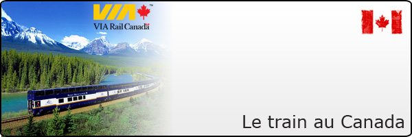 Le train canadien - Via Rail Canada