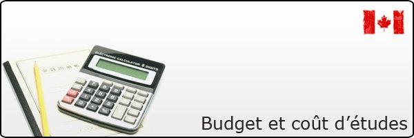 Budget étudiant français au Canada