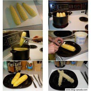 Recette de cuisine au Canada : les épis de maïs !