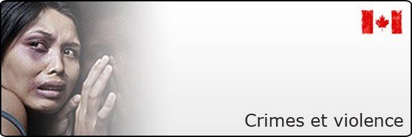 Crimes et violence au Canada