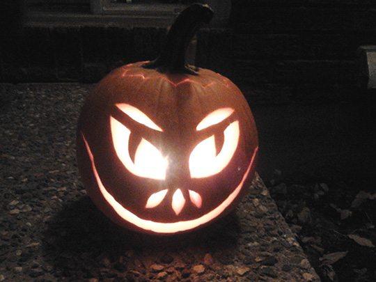 Notre citrouille d'Halloween
