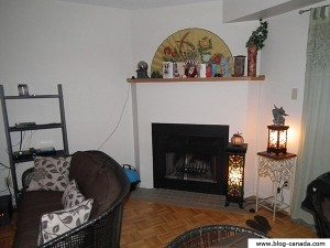 Photos de ma cheminée - Noël 2011