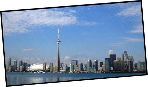 La ville de Toronto (Ontario, Canada)