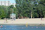 La plage Britannia à Ottawa