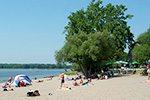 La plage Westboro à Ottawa