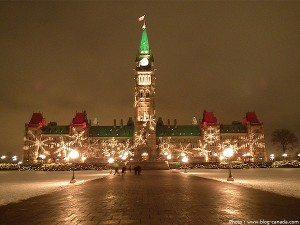 Noël sur la Colline du parlement