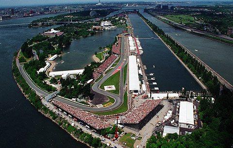 Circuit de Formule 1 au Canada