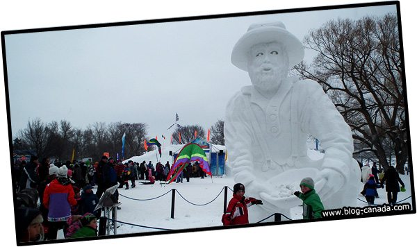 Bal de Neige à Gatineau - Festival d'hiver au Québec